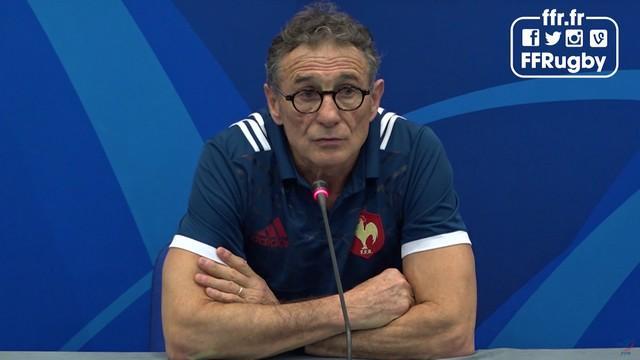 """6 Nations - XV de France. Guy Novès : """"Si on doit piquer les mecs pour qu'ils soient meilleurs, c'est qu'on fait fausse route"""""""