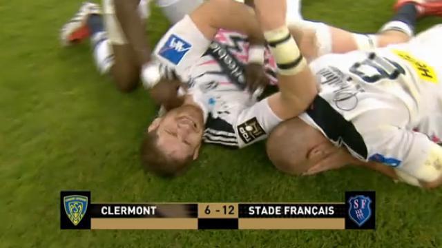 RÉSUMÉ VIDÉO. Le Stade Français sacré champion de France après sa victoire contre Clermont (12-6)