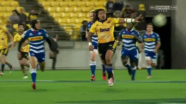 VIDEO. Le Super Rugby dans toute sa splendeur avec le sublime essai de 100m des Hurricanes