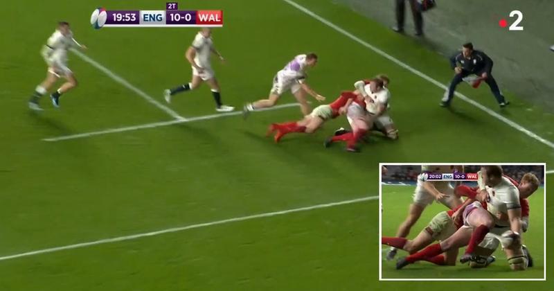 VIDEO. 6 Nations. Angleterre vs Pays de Galles. Le sublime offload de Launchbury pour le doublé de May