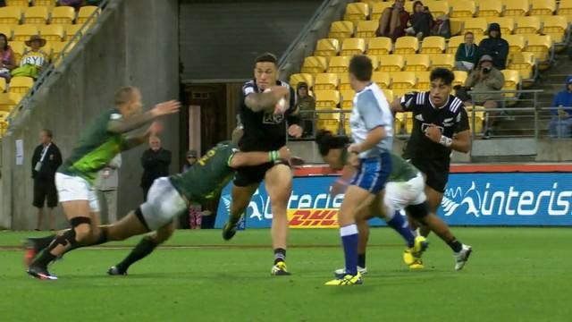 VIDEO. Wellington 7s. Sonny Bill Williams décisif contre l'Afrique du Sud avec un sublime offload