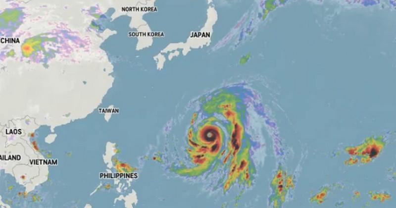 Menace sur France/Angleterre : Le super-typhon Hagibis arrive avec ses vents à 300 km/h !