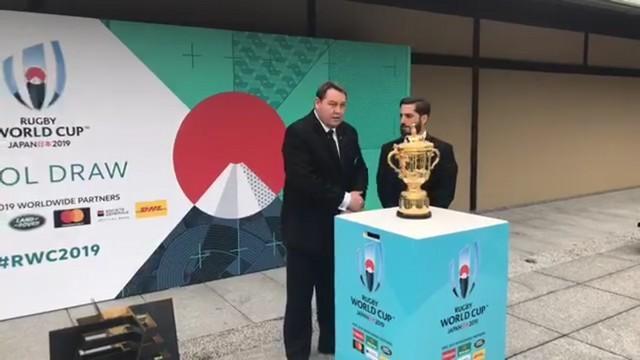 Coupe du monde Japon 2019 - Le tirage au sort des poules en direct de Kyoto