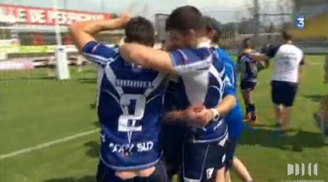XIII. Le Toulouse Olympique XIII réalise le doublé après avoir écrasé Lézignan en finale du championnat