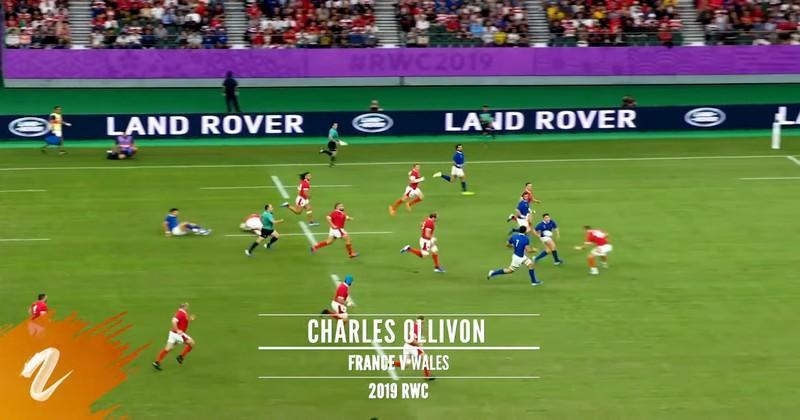 Ollivon Top 2 des plus beaux essais marqués à la Coupe du monde par un 3e ligne [VIDEO]