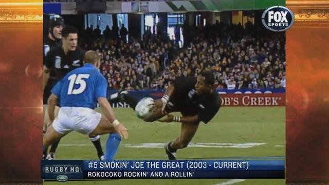 VIDEO. Le Top 5 des plus grands magiciens du rugby par Fox Sports