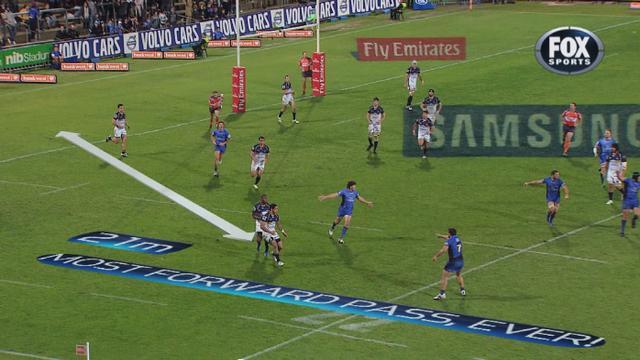 VIDEO. Insolite. Le Top 5 des pires passes de l'histoire du rugby selon Fox Sports