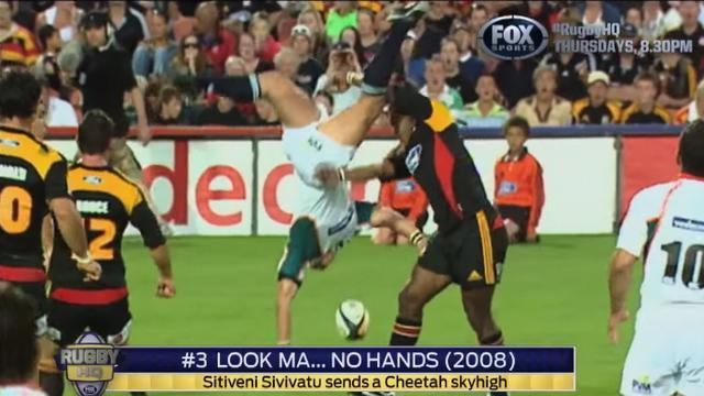 VIDEO. Le Top 5 des plaquages qui tournent mal par Fox Sport