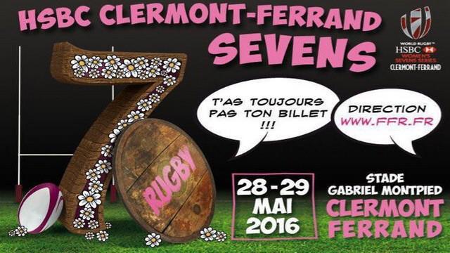 Women's Sevens Series - Le tournoi de Clermont-Ferrand en direct sur France 4