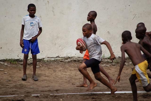 Le rugby, vecteur d'insertion sociale en Côte d'Ivoire avec le Treichville Biafra Olympique