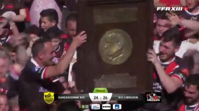VIDEO. Rugby à XIII. La victoire au bout du suspense de Limoux en finale face à Carcassonne