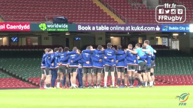 VIDEO. 6 Nations. Le XV de France en reconnaissance au Principality Stadium pour éviter la déconvenue de 2014