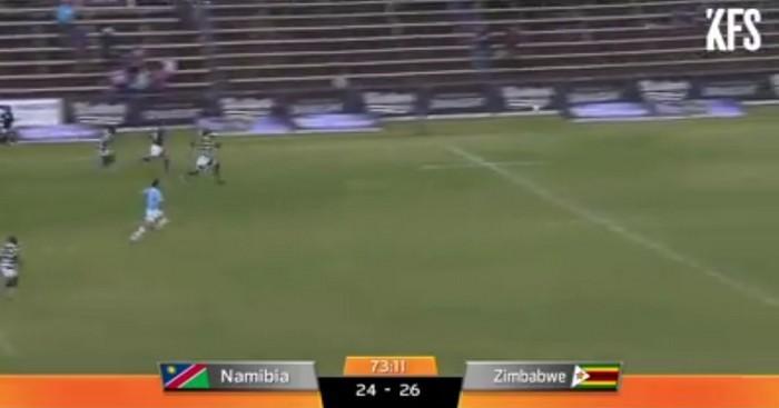 RÉSUMÉ VIDÉO. Rugby Africa Gold Cup - La Namibie se fait une grosse frayeur face au Zimbabwe