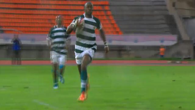 VIDÉO. Le Zimbabwéen Chitokwindo marque un splendide essai de 80 mètres contre la Russie