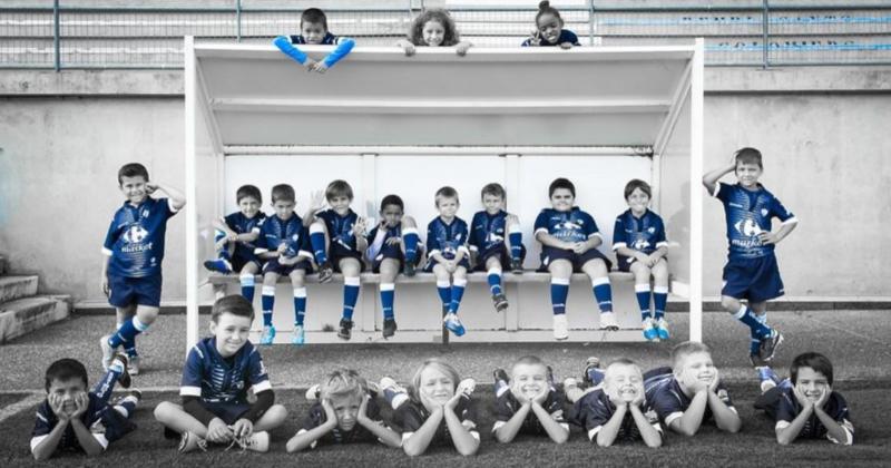 L'école de rugby de Colomiers investit le Stade Bendichou pour un superbe calendrier [Photos]