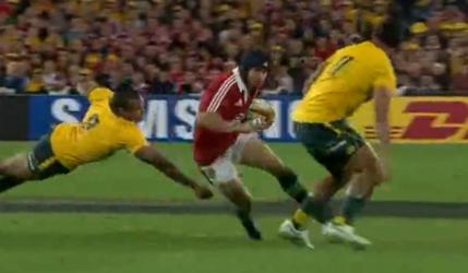 VIDEO. Lions : Halfpenny magique contre les Wallabies (41-16)
