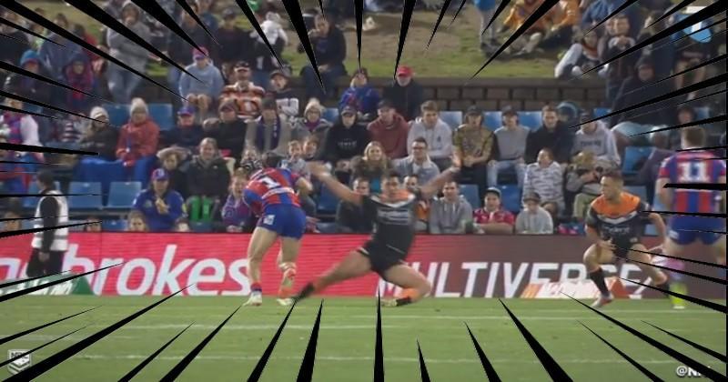VIDEO. NRL - Kalyn Ponga a-t-il réalisé le plus gros cassage de genoux de l'année ?