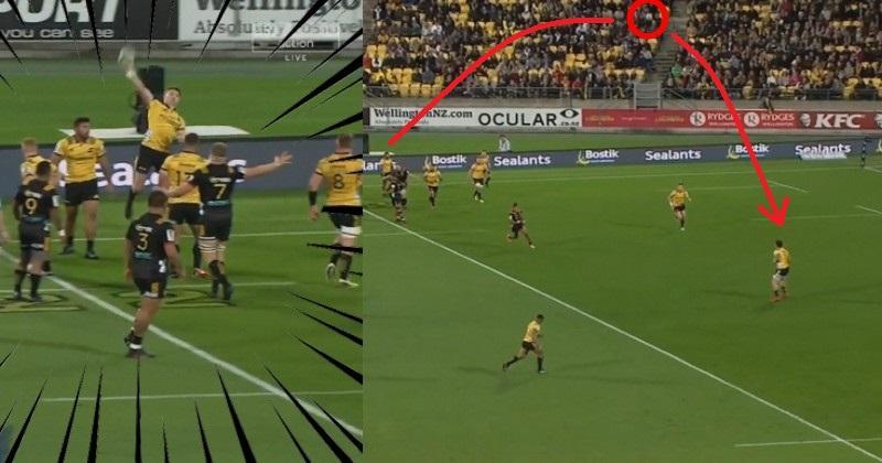VIDEO. Super Rugby. L'énorme passe de quarterback de Beauden Barrett pour Ben Lam