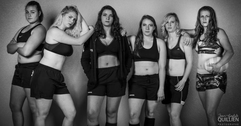 L'entente Beauvais Clermont pour la féminité et la sensualité des rugbywomen dans un calendrier [PHOTOS]