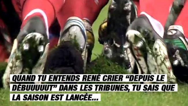 Les 32 signes qui montrent que c'est la reprise des matchs de rugby amateur