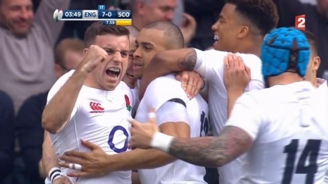 6 Nations 2017 - Les 5 points à retenir de la victoire de l'Angleterre sur l'Ecosse