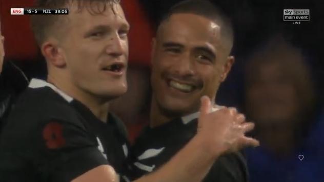 Les 5 points de la victoire des All Blacks face à l'Angleterre (15-16)
