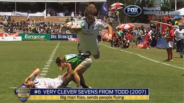 VIDEO. Les 7 plus belles actions de l'histoire du rugby à 7