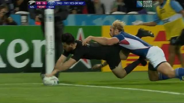 RESUME VIDEO. Coupe du monde. Nehe Milner-Skudder et les All Blacks sans pitié face à la Namibie