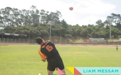 VIDEO. Les All Blacks font un concours de lancer... de ballon de rugby