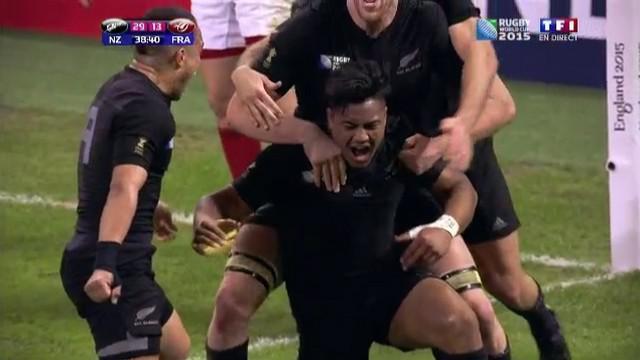 RESUME VIDEO. Coupe du monde. Les All Blacks humilient la France (62-13)