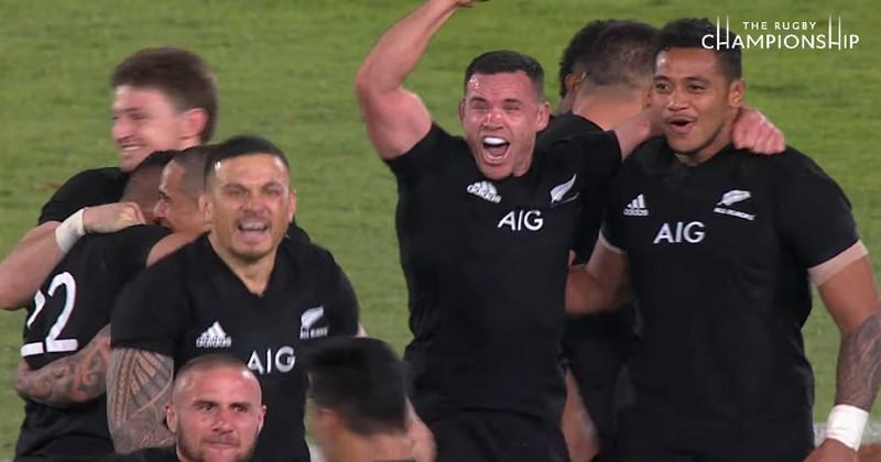 Rugby Championship - Les All Blacks n'ont jamais été aussi proches d'un nouveau record