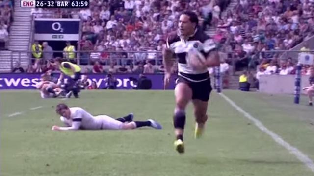 RESUME VIDEO. Les Barbarians dominent l'Angleterre grâce à une prestation monstrueuse d'Hosea Gear