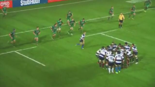 VIDEO. Les Barbarians tentent une combinaison de football américain face à Leicester...magique
