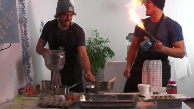 VIDEO. INSOLITE. Les joueurs de l'Aviron Bayonnais bientôt dans l'émission « Le Meilleur pâtissier » ?