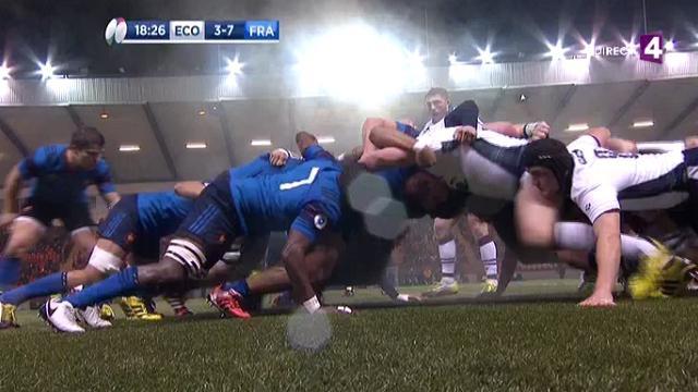 VIDEO. 6 Nations U20. Les Bleuets montrent la voie au XV de France en passant cinq essais à l'Écosse