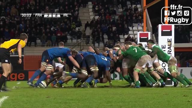 RESUME VIDEO. 6 Nations U20. Les Bleuets montrent la voie au XV de France tout en puissance