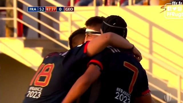 RÉSUMÉ VIDÉO. Championnat du monde U20. Les Bleuets punissent la Géorgie et s'offrent une demi-finale de prestige