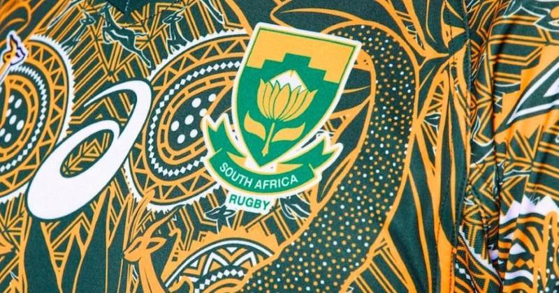 Les Blitzboks révèlent le superbe maillot pour les 100 ans de Nelson Mandela [Photos]