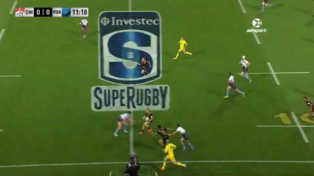 VIDEO. Super Rugby. Les Chiefs donnent une leçon de rugby à la Western Force avec un essai de 90m