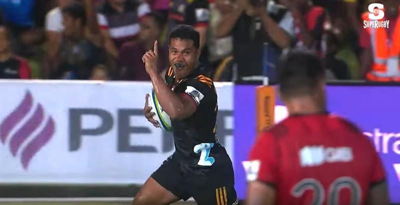Super Rugby - Les Chiefs passent 40 points aux Crusaders pour un come-back impressionnant [VIDÉO]