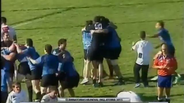 VIDÉO. Les commentateurs s'enflamment après la qualification de l'Uruguay pour la Coupe du monde 2015