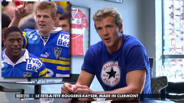 VIDEO. Top 14 - ASM. Les confidences d'Aurélien Rougerie à Benjamin Kayser