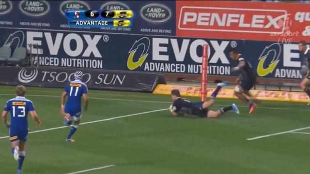 VIDEO. Super Rugby. Les coups de pieds magiques des Hurricanes face aux Stormers