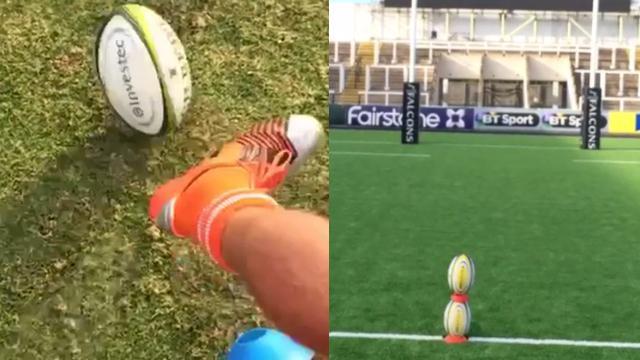 VIDEO. Les coups de pieds incroyables de TJ Perenara, du 3 ligne Andrew Saull et des joueurs de BYU