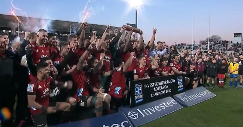 VIDÉO - L'eau mouille, le feu brûle, et les Crusaders gagnent (encore) le Super Rugby