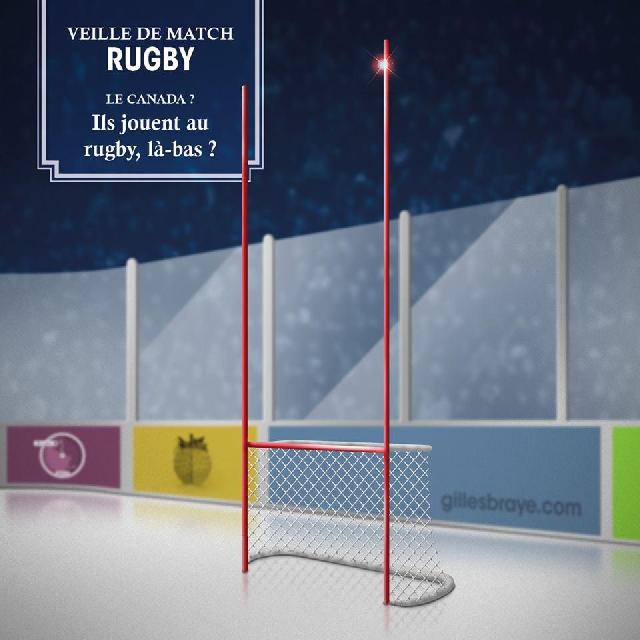 L'oeil décalé de l'illustrateur Gilles Brayé sur les matchs du XV de France