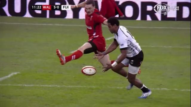 VIDÉO. Les deux gros fails qui empêchent les Fidji de l'emporter contre le Pays de Galles