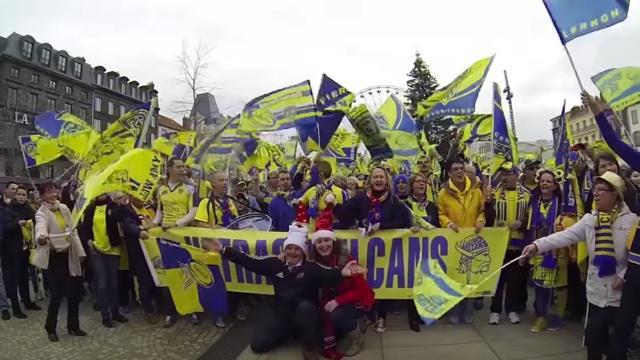 Racing 92. Les drapeaux et les tambours des supporters de Clermont ont été interdits à Colombes