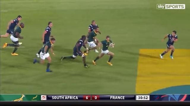 Résumé Vidéo. Test Match : Les essais du match entre le Xv de France et les Springboks