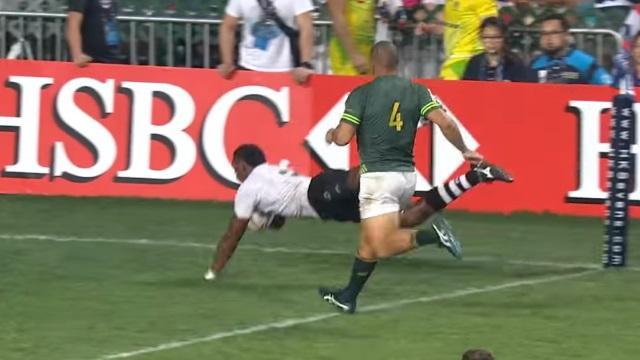 VIDEO. Rugby à 7 : les Fidji font parler leur magie et remportent le Hong Kong 7s face à l'Afrique du Sud